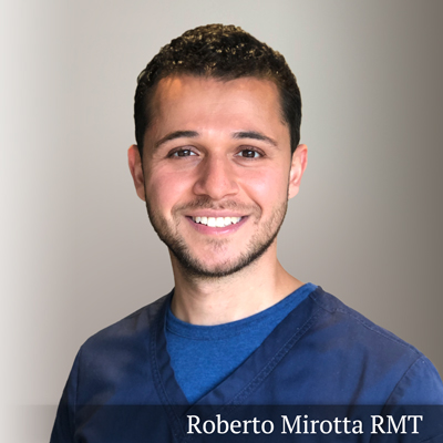 Roberto Mirotta registered Massage Therapist